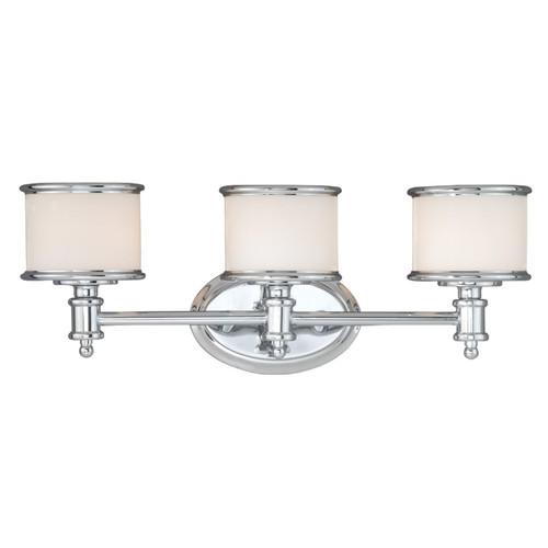 Edmonton 3 Light Vanity Lamp - Chrome