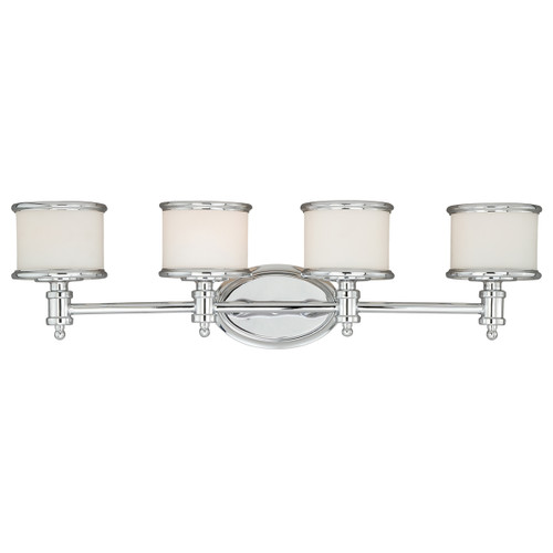 Edmonton 4 Light Vanity Lamp - Chrome