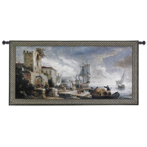 Evening Anticipation Wall Tapestry