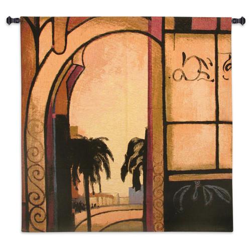 Exotic Retreat I Wall Tapestry