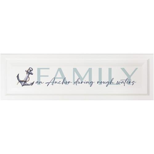 Family is an Anchor Wall Décor