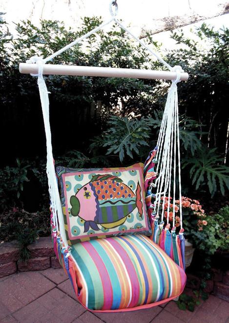 Fish Le Jardin Stripe Swing Set