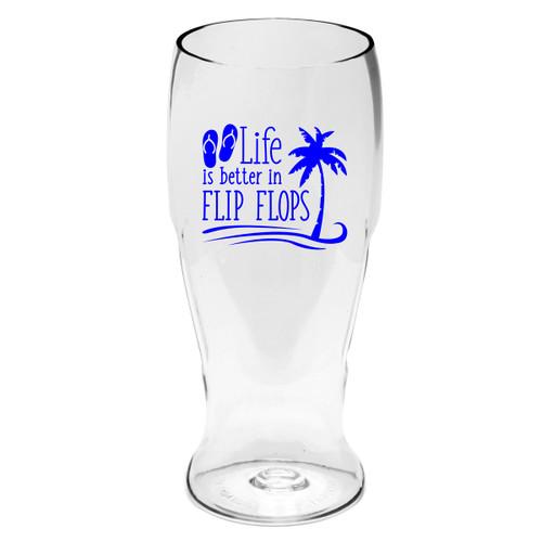 Flip Flop Life Beer Tumblers - Set of 4