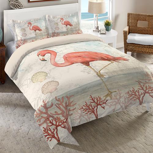 Floridian Flamingo Comforter - Queen