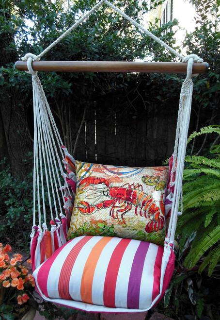 Fresh Lobster Cristina Stripe Swing Set