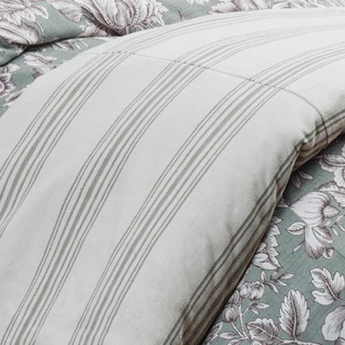 Gramercy Striped Duvet - Super Queen