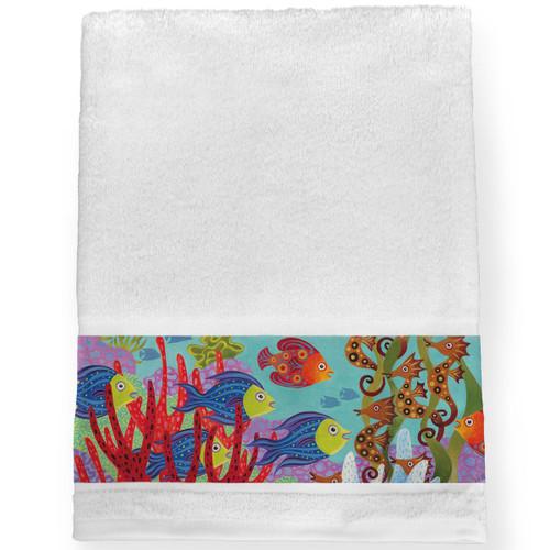 Great Reef Bath Towel