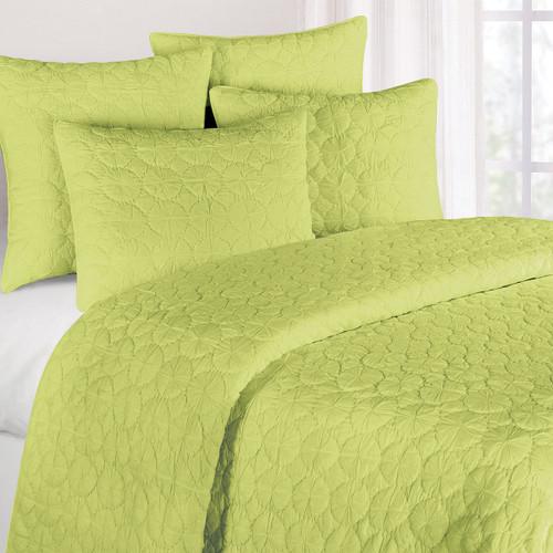 Green Mara King Quilt