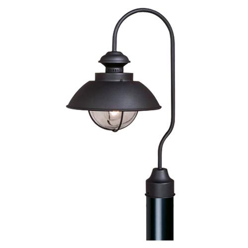 Harwich Black Outdoor Post Light