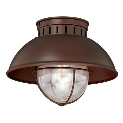 Harwich Bronze Outdoor Ceiling Light