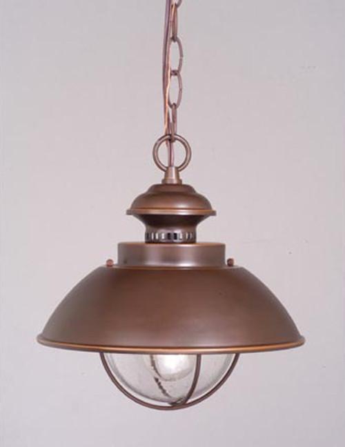 Harwich Bronze Outdoor Pendant Light