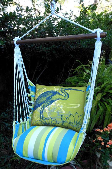 Heron Beach Boulevard Stripe Swing Set
