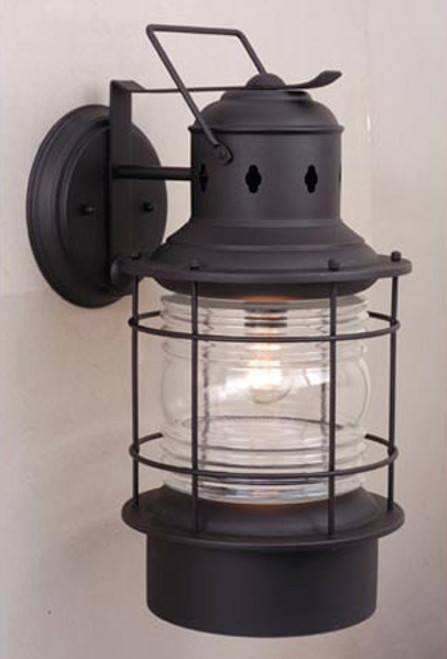 Hyannis Black Outdoor Wall Sconce - 8 Inch