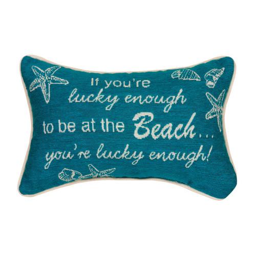 Beach Luck Pillow