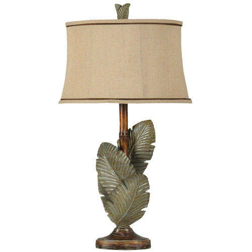 Islamadora Palm Leaves Table Lamp
