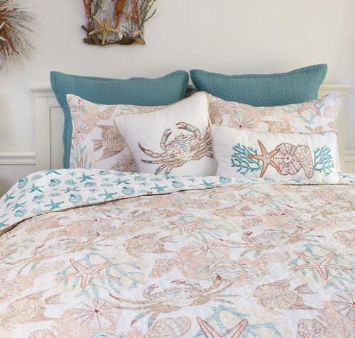 Blue Crab Bay Quilt Mini Set - Full/Queen