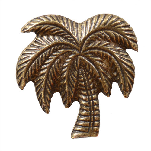 Large Palm Tree Cabinet Pull - Oil Rubbed Bronze