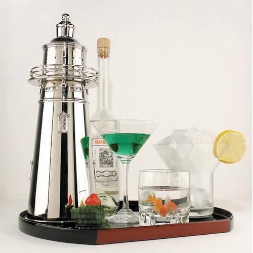 Lighthouse Cocktail Shaker