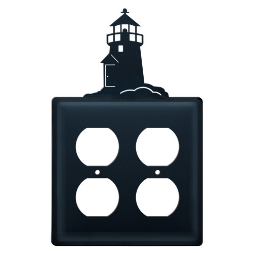 Lighthouse Double Outlet Cover