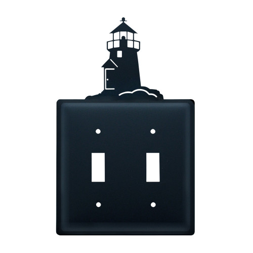 Lighthouse Double Switch Cover