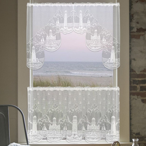 Lighthouse Lace Swag Pair - OVERSTOCK