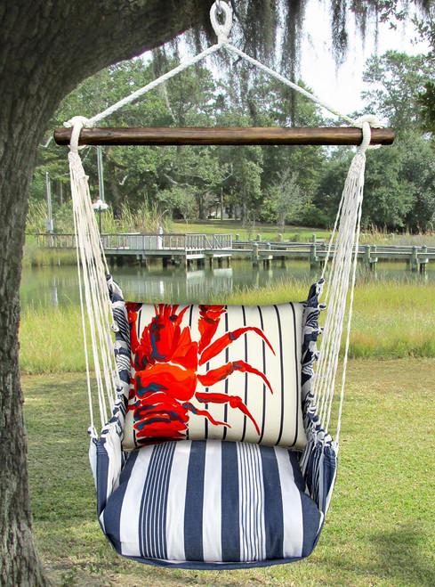 Lobster Marina Stripe Swing Set