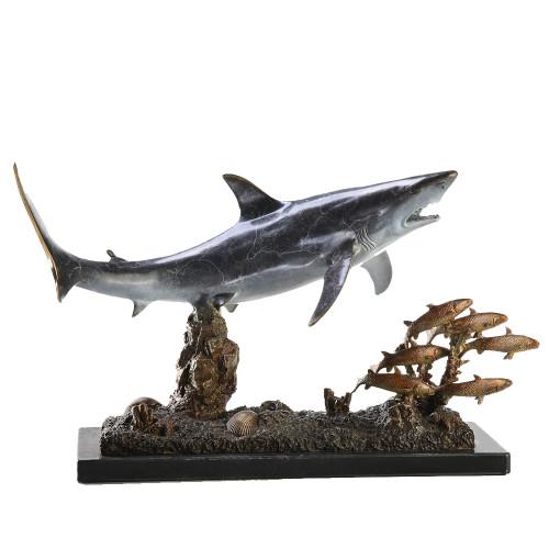 Lunchtime Shark Sculpture