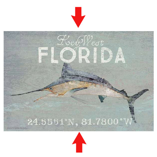 Marlin Cove Personalized Sign