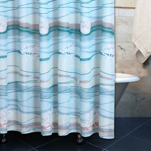 Honolua Bay Shower Curtain