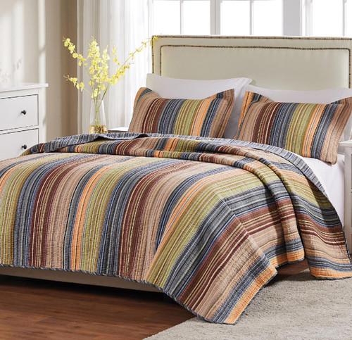 Sandy Beach Stripe Bedding Collection