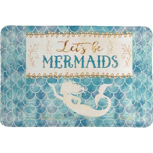 Mermaid Friends Memory Foam Rug