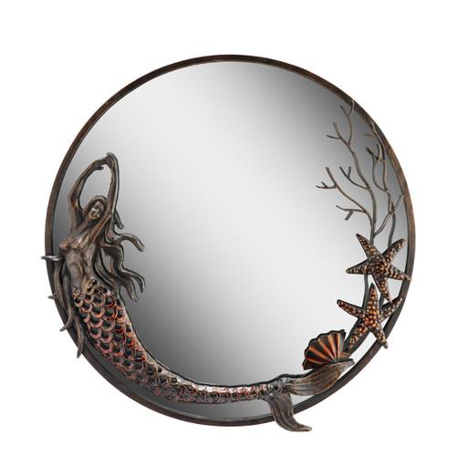 Mermaid Round Mirror