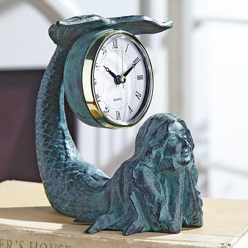 Mermaid Table Clock