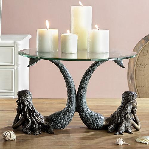 Mermaid Twins Server/Candleholder