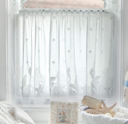 Sea Life Lace Window Treatments