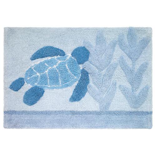 Mosaic Sea Turtle Bath Mat