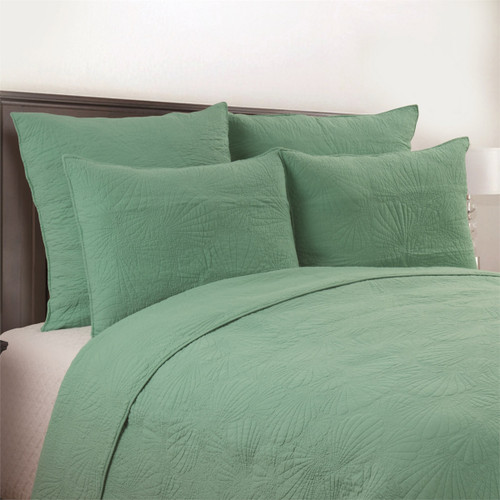 Seashell Seafoam Quilt Bedding Collection
