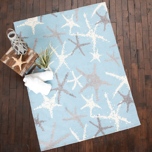 Silver Stars Rug Collection