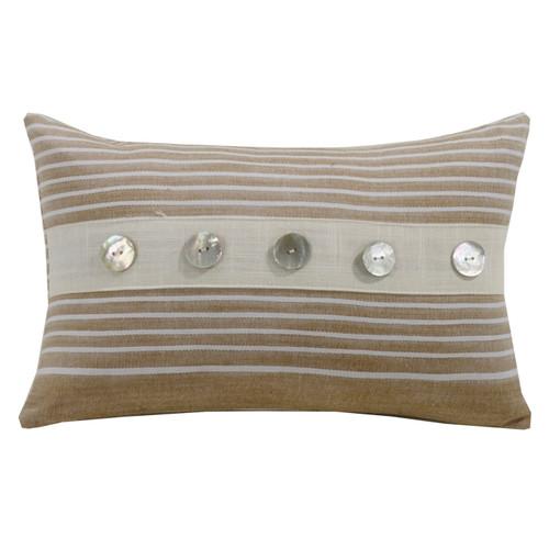 Newport Small Striped Pillow