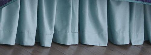 Ocean Blue Bedskirt - King