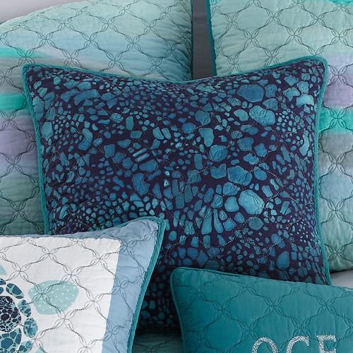 Ocean Blue Ocean Pillow