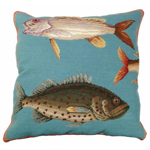 Ocean Fish I Pillow