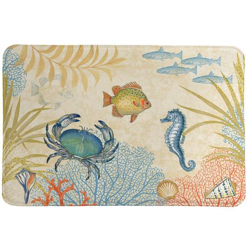 Coral Reef Memory Foam Mat