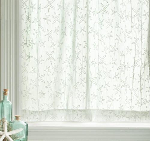 Starfish Lace Window Treatments