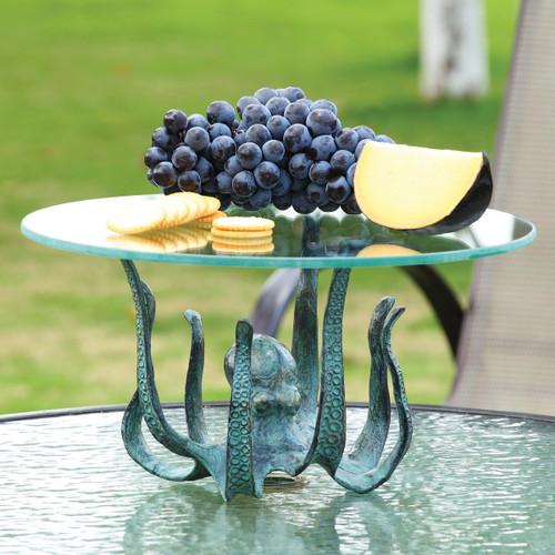 Octopus Table Server & Candleholder