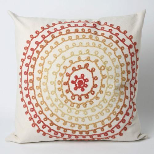 Ombre Threads Warm Pillow - 20 x 20