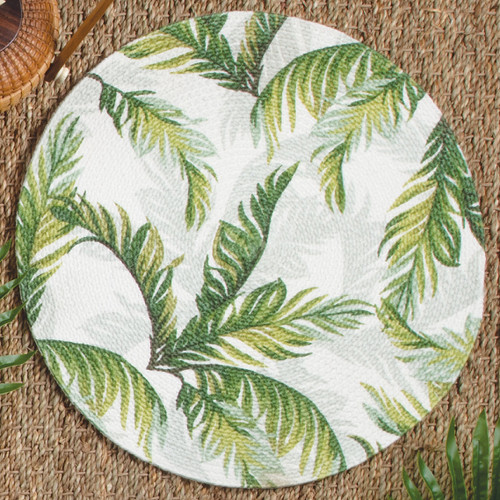 Palm Breeze Braided Placemat