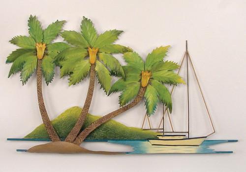 Palm Island Wall Art - OVERSTOCK