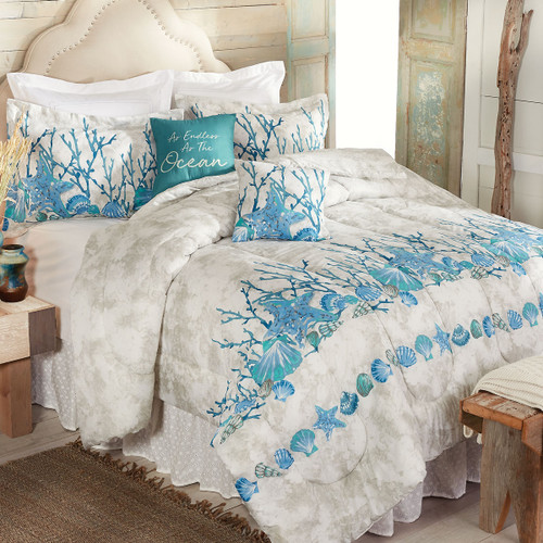 Tranquil Sea Bedding Collection