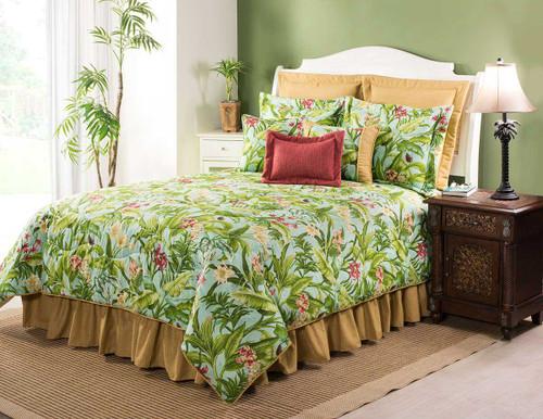 Paradise in Bloom Comforter - Queen
